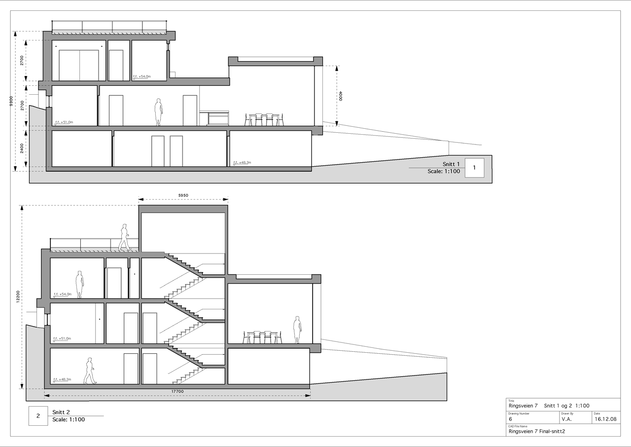Schematic Design Architectural Drawings