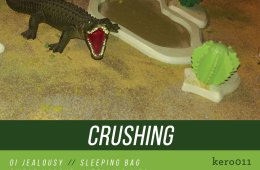 crushing self titled album art crocodile