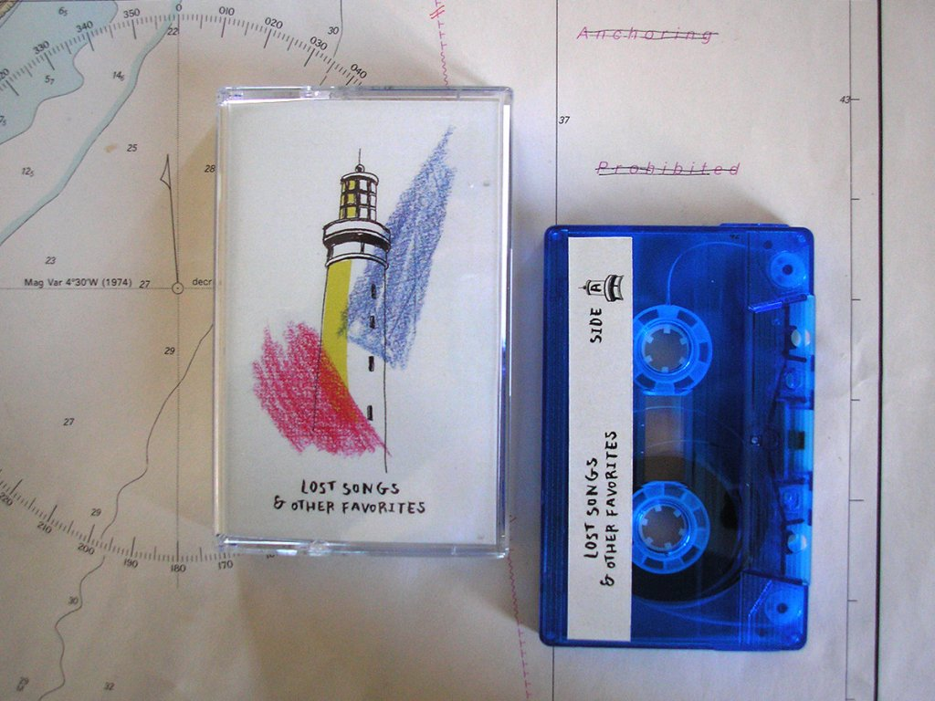 lost songs and other favorites cassette tape life is a minestrone
