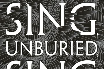 jesmyn ward sing unburied sing book cover glossy crow feathers