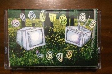 photo of trust fall giants of love cassette tape
