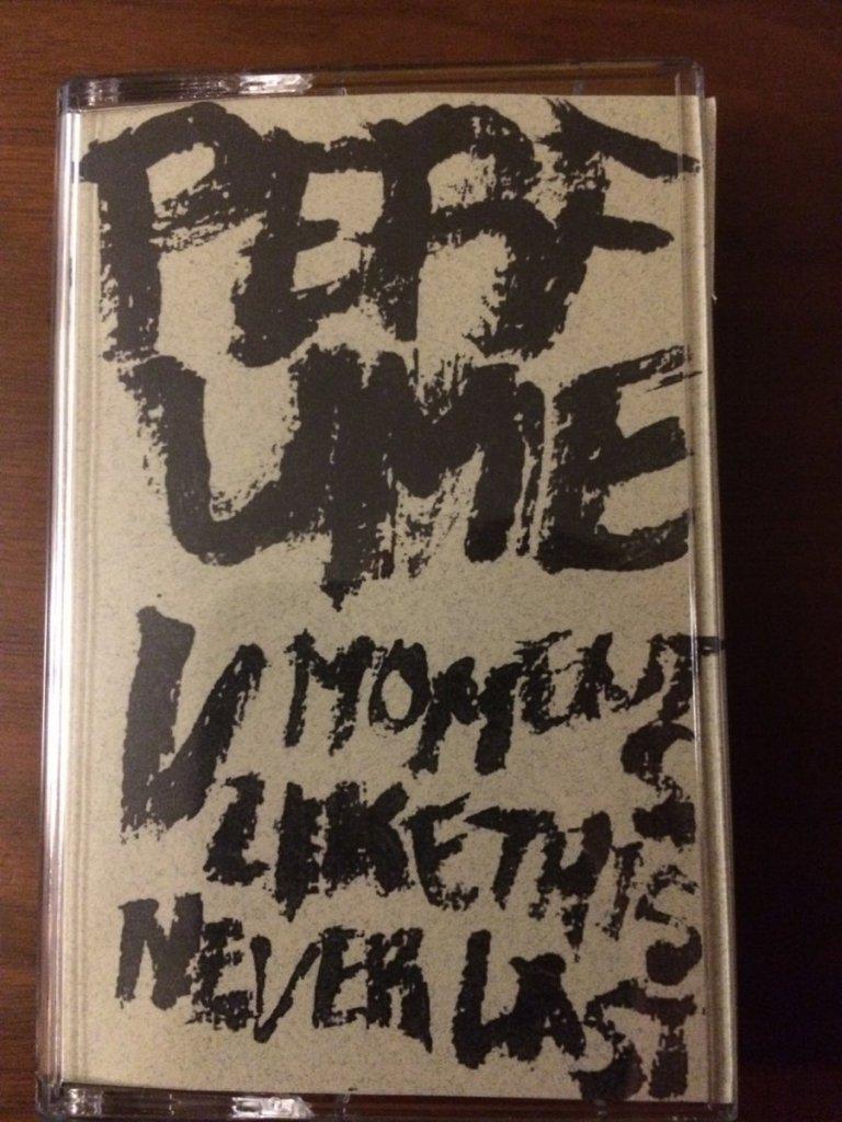 photo of perfume v moments like this never last cassette tape