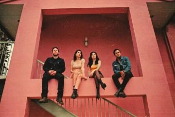 photo of the band Blushing