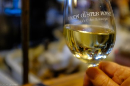 Union Oyster House wine