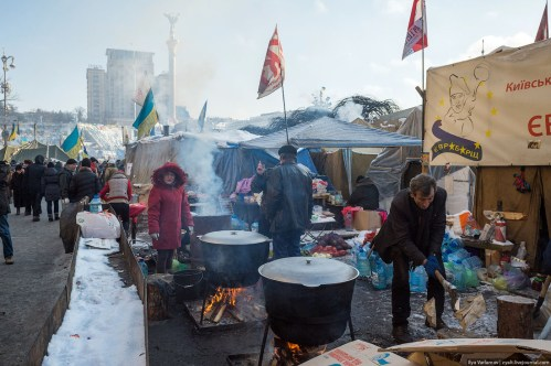 euromaidan day to day life