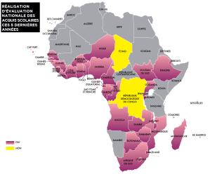 Etat des lieux de l'évaluation des acquis scolaires en Afrique subsaharienne