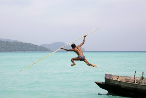 Pêcheur traditionnel Moklen