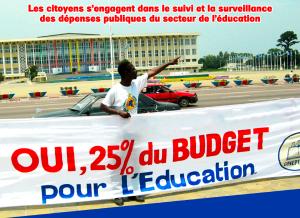 Maîtriser le budget de l'éducation en République Démocratique du Congo