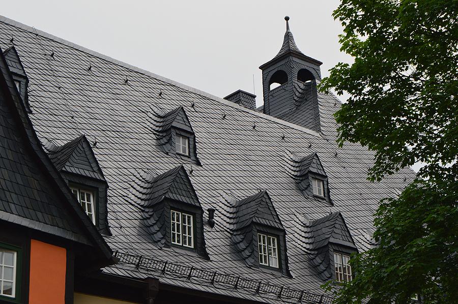 Et af de utallige smukke tage i Harzen