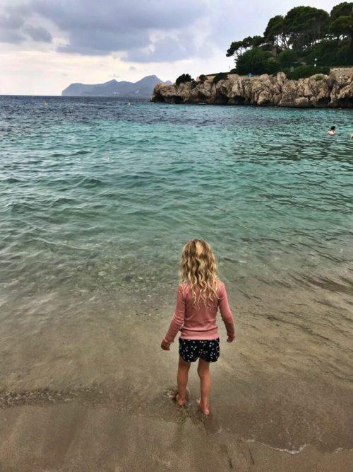 Stranden ved Cala Gat på Mallorca.