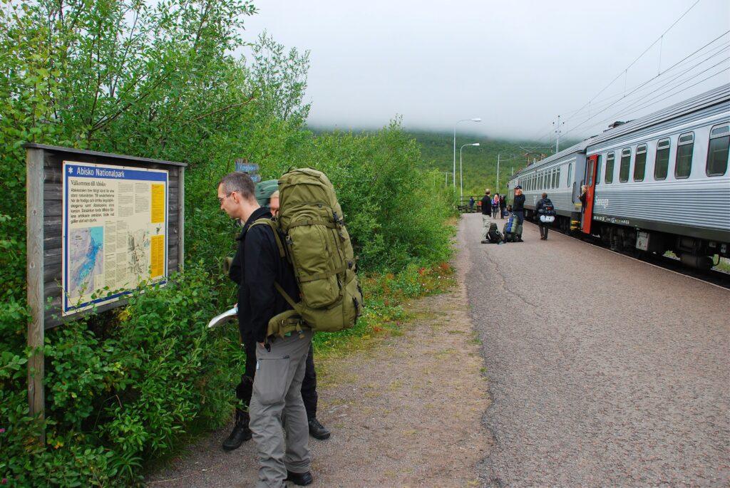 Tog til Abisko Turstation