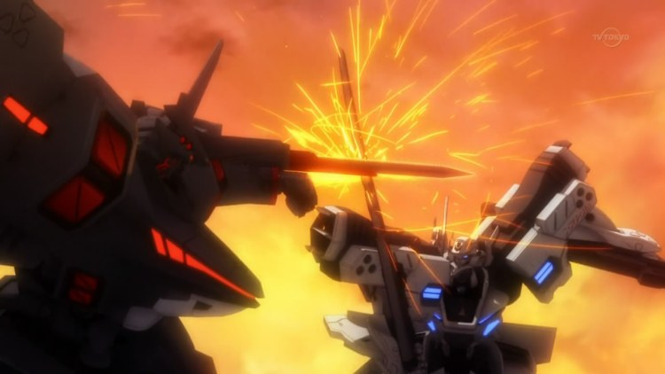 More mecha action, because we all deserve it.