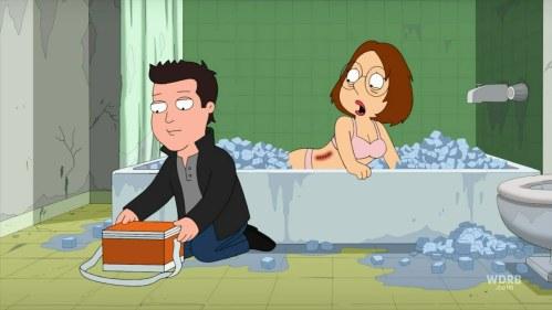 Ewww.... Meg's boobs.