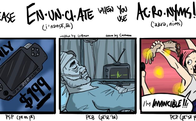 Comic: Please Enunciate