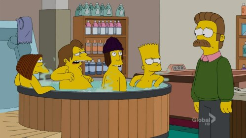 Pictured here, future meth addicts. Even Flanders.