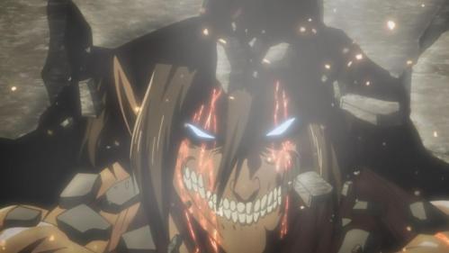 Eren-gelion Unit 1's berserker mode.
