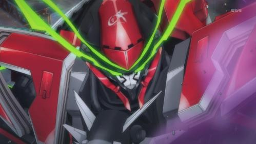 Valvrave takes the prize for the coolest mecha design of this season.