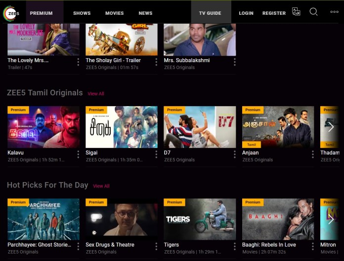 ZEE5 streaming service now available in Malaysia and