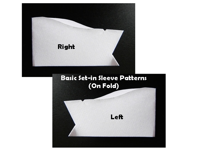 How To Draft Basic (Plain) Set-in Sleeves? (3/4)