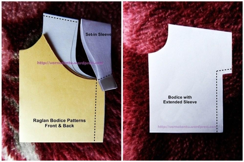 How To Make Raglan Bodice & Raglan Sleeves? (5/6)