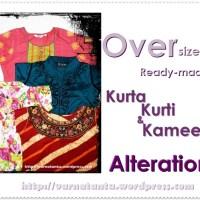 Fitting An Oversized Ready-made Kurta/Kurti/Kameez