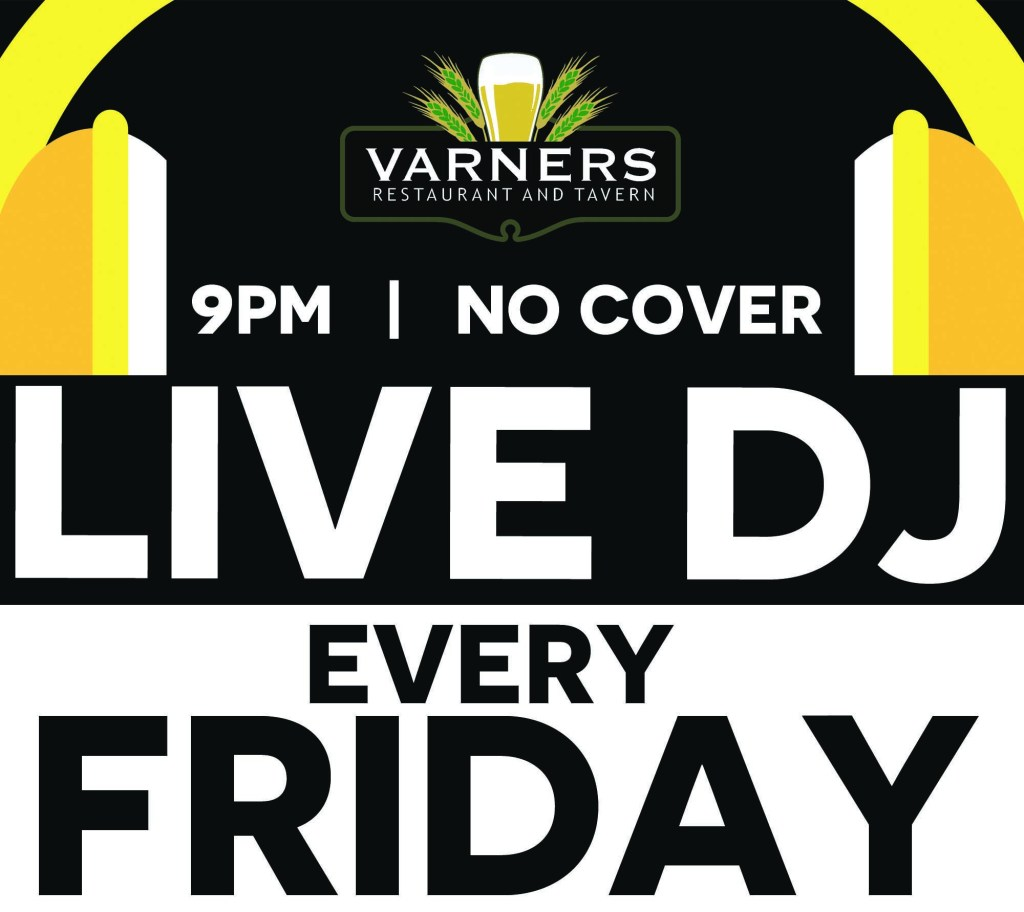 Live DJ Every Friday