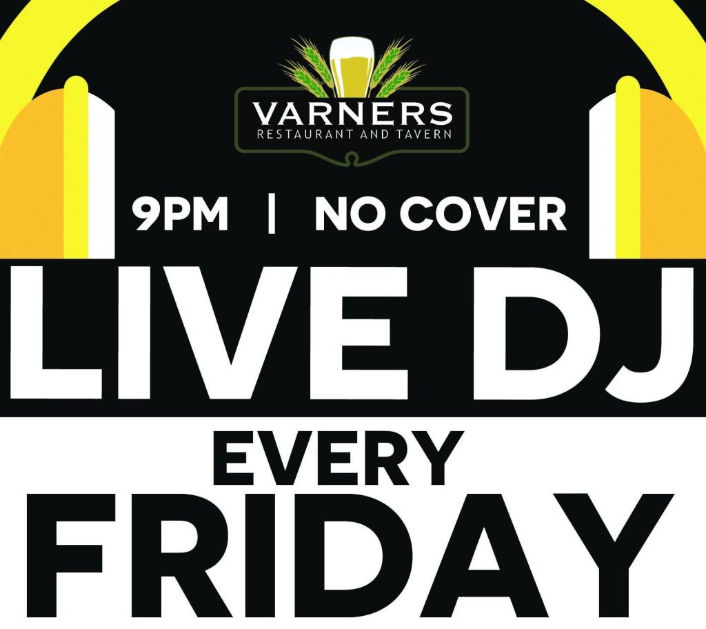 Live DJ Every Friday