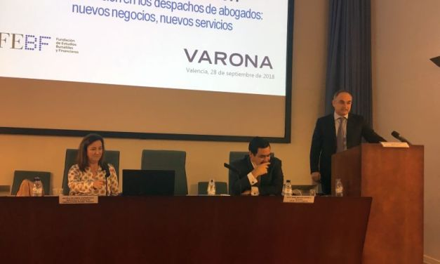"""IGNACIO VARONA: """"LEGALTECH ABRE NUEVAS OPORTUNIDADES DE NEGOCIO PARA LAS QUE TENEMOS QUE ESTAR TECNOLÓGICAMENTE PREPARADOS"""""""