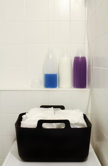 pyykillä