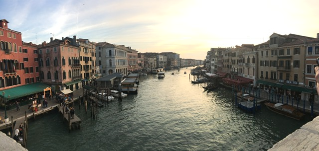 The canals of Venice!