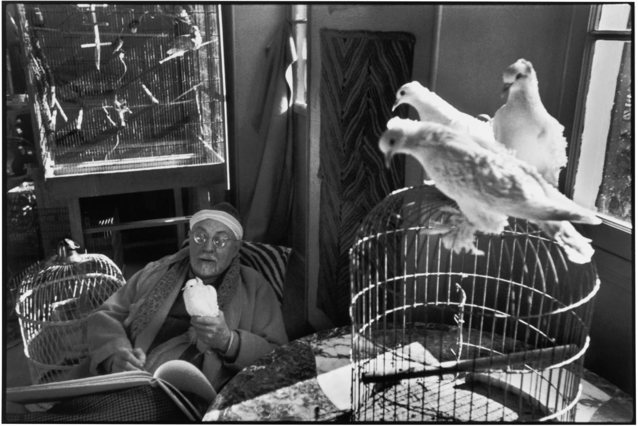"Fransa, rəssam Anri Matisse öz ""Le Reve"" adlı villasında, 1943-1944"
