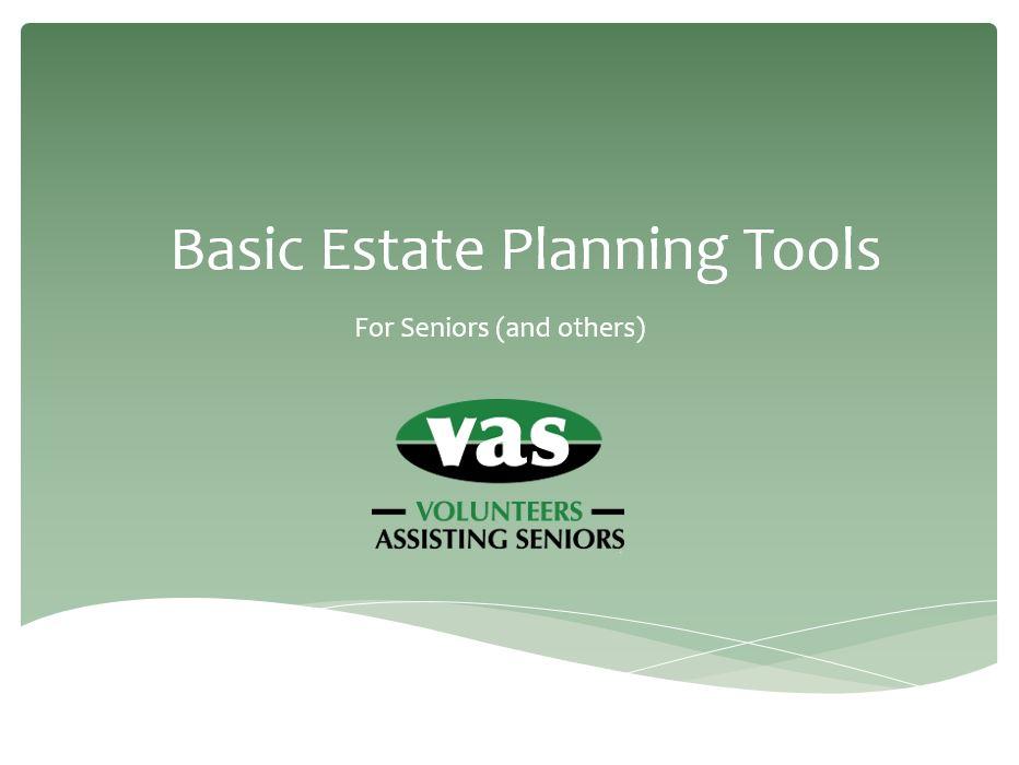 Basic Estate Planning Class