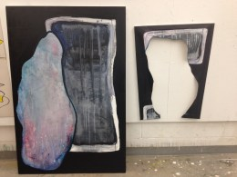 """Enter?"". Acrylic on Canvas. 2015"
