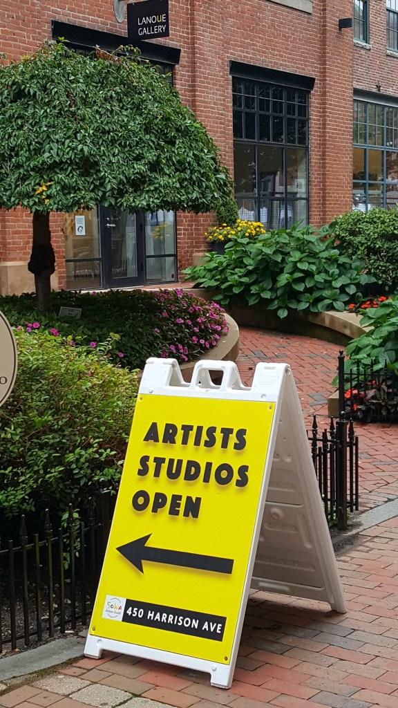 South End Open Studios 2017