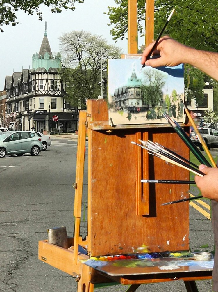 Ridgewood Art Institute Paint Out