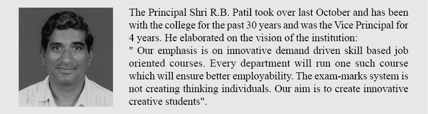MES College Principal quote