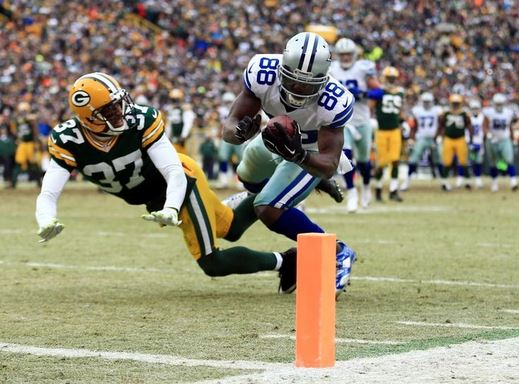 Dez Bryant after making the Catch