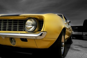 The Muscle car is classic American why because we can.......that is why!