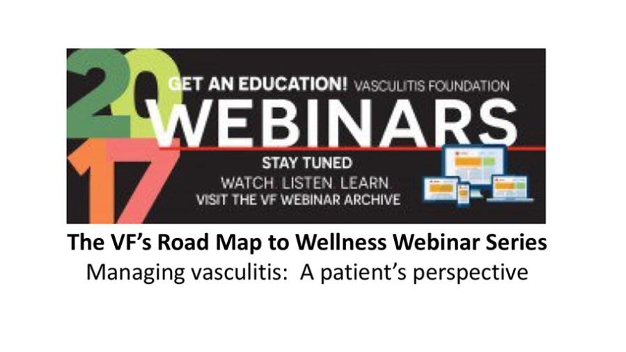 Step one: My diagnosis with EGPA/Churg-Strauss vasculitis