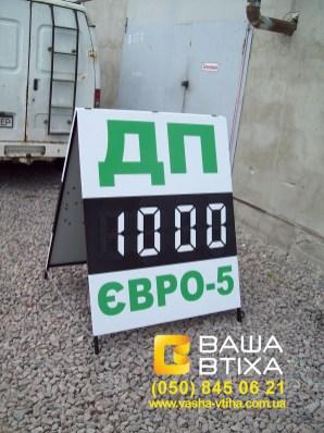 Штендер в Киеве: качественно, недорого, быстро