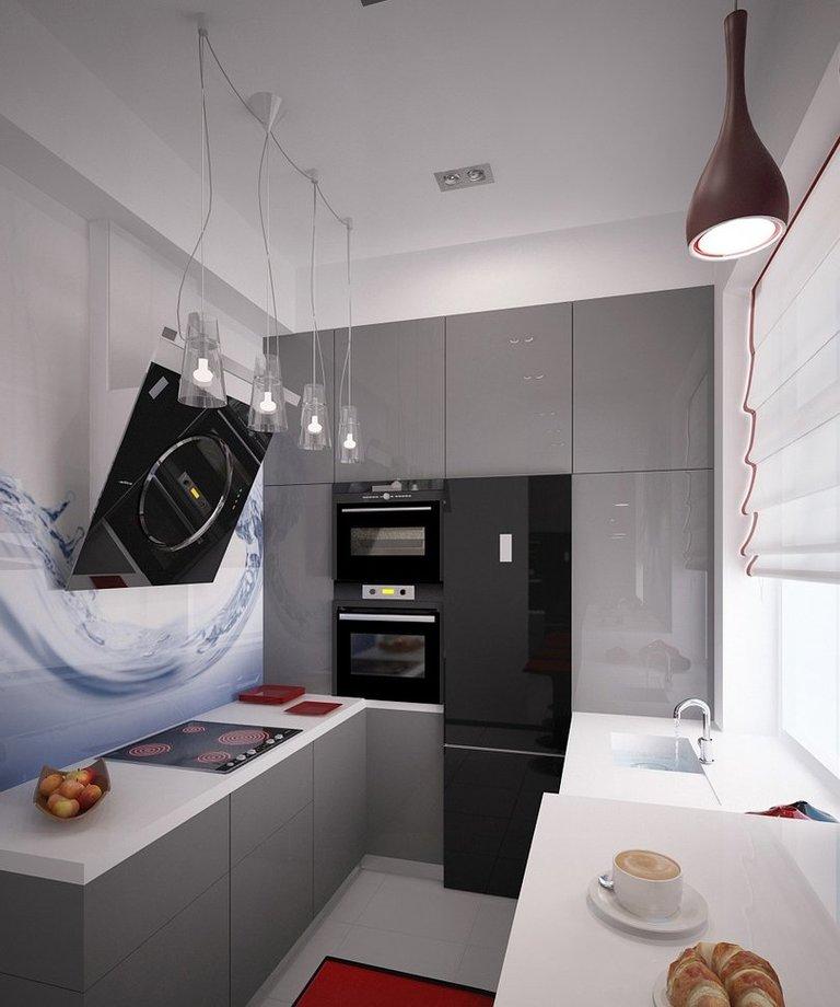 Дизайн маленькой кухни площадью 6 кв.м – фото примеры ...
