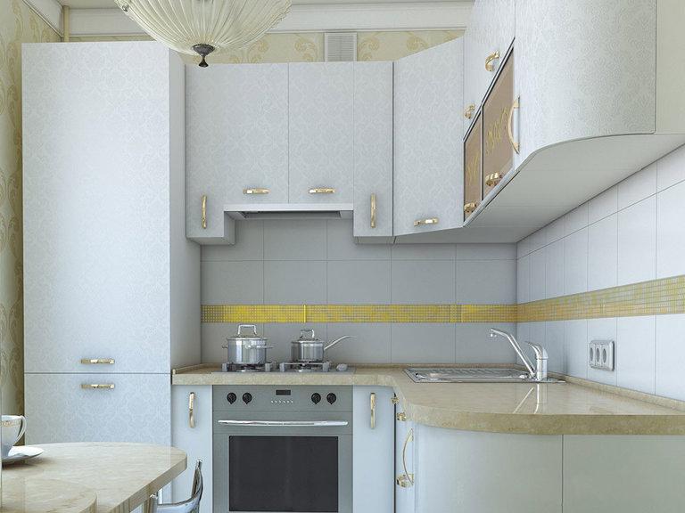кухня хрущевка с колонкой 5 метров дизайн ремонт без перепланировки 2
