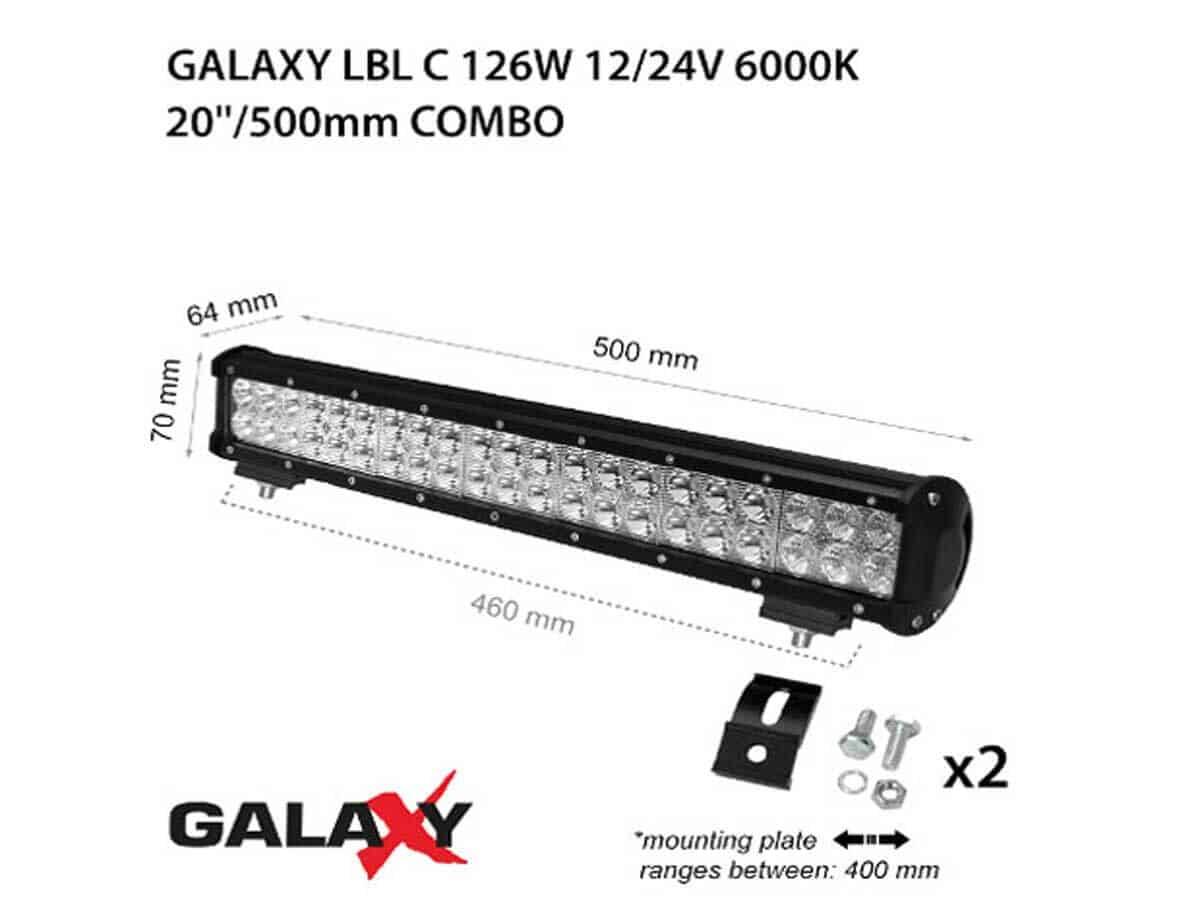 LED BARS LBL C-126W