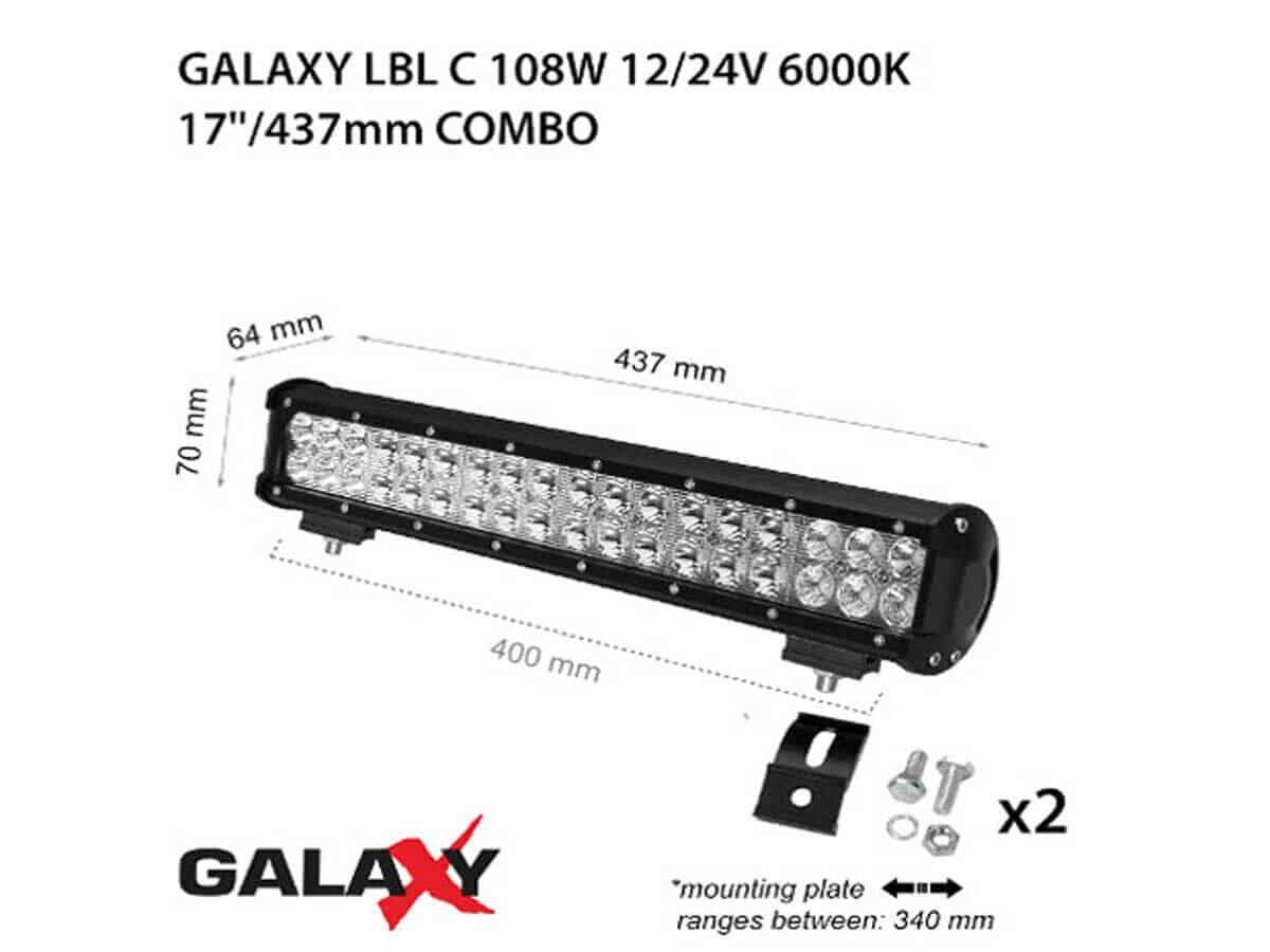 LED BARS LBL C-180W