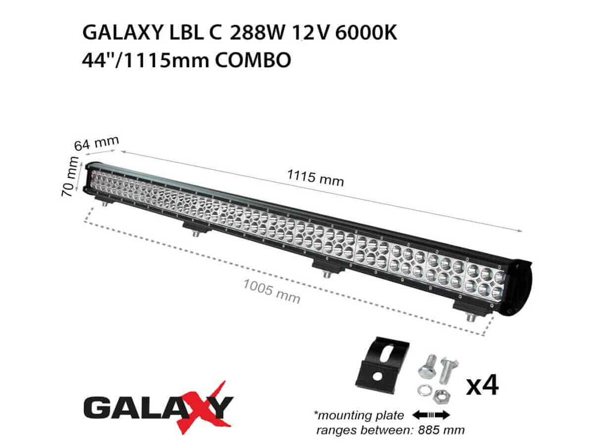 LED BARS LBL C-288W
