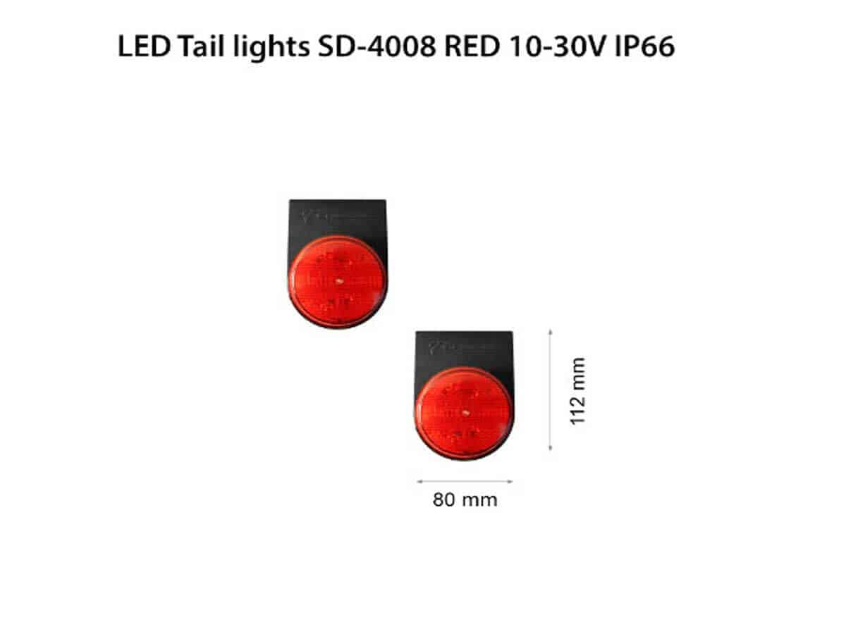 LED-Tail-lights-SD-4008-RED