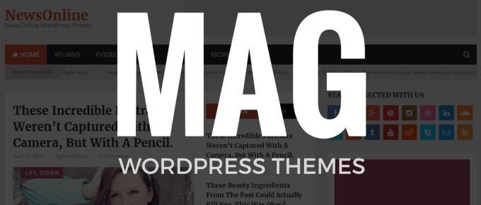 Top 10 Best Magazine WordPress Themes with Premium Design
