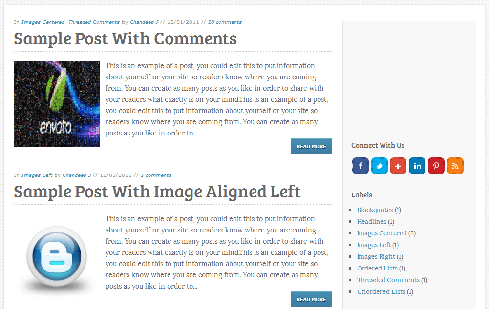 elice blogger template posts seo friendly