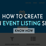 How to Create an Event Listing Site in 30 Minutes