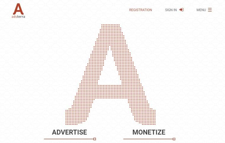 Adsterra Premium International Advertising Network